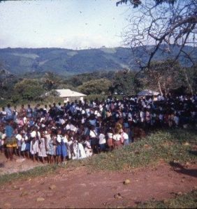 Cox, Louise Schullery - Primary school morning assembly